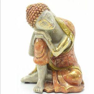 "COPY - Feng Shui 5.5"" Golden Brown Resting Medita…"